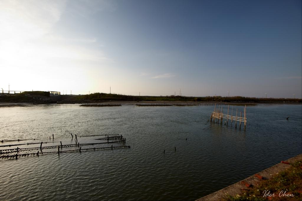 青山港沙洲蚵架