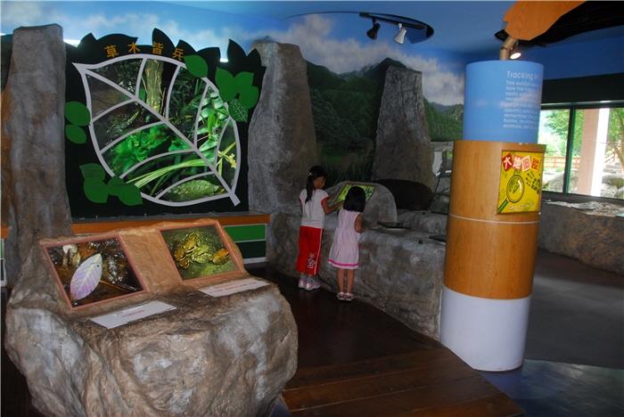 太魯閣遊客中心兒童環境教育館展場