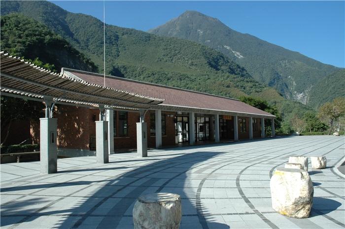 太魯閣遊客中心建築物外觀