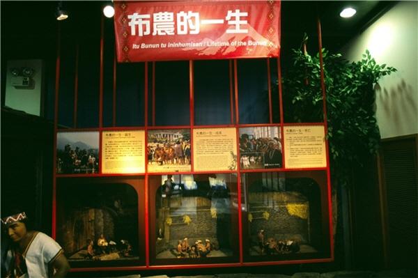 布農文物館展示櫥窗