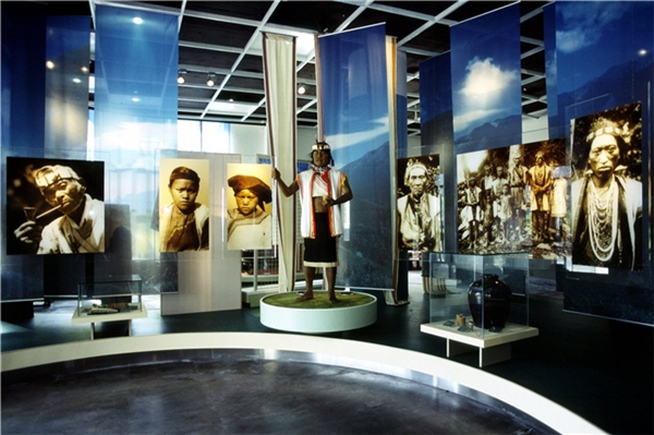 布農文物館內部展示