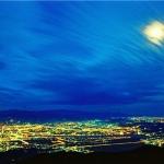 大屯夜色 / 林柏齊攝,陽明山國家公園管理處提供