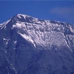 冬季雪山主峰