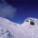 二月雪山主峰