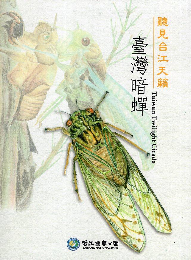 《聽見台江天籟:臺灣暗蟬(精裝)》封面