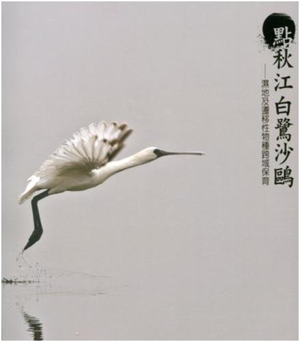 《點秋江白鷺沙鷗-濕地及遷移性物種跨域保育》封面