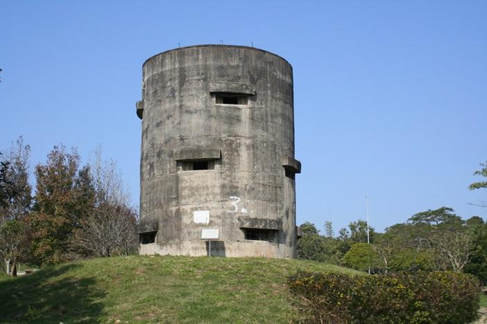 捍衛臺中盆地的大肚山碉堡
