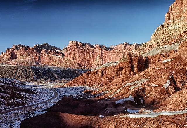 猶他州四座特別優先改善之國家公園