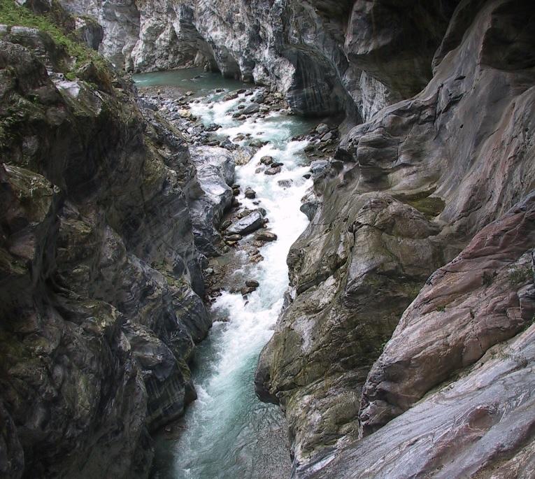 太魯閣絕美的峽谷景觀