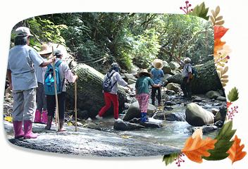 里德社區提供欖仁溪生態旅程 (墾丁國家公園管理處提供)