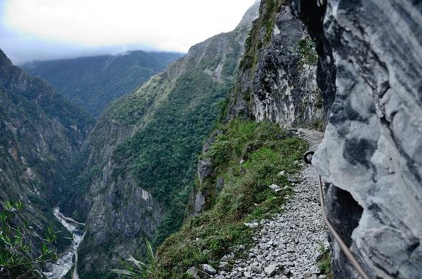 東亞第一斷崖:太魯閣錐麓古道