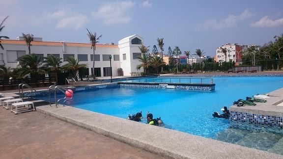 小灣潛水訓練中心 (墾丁國家公園管理處提供)