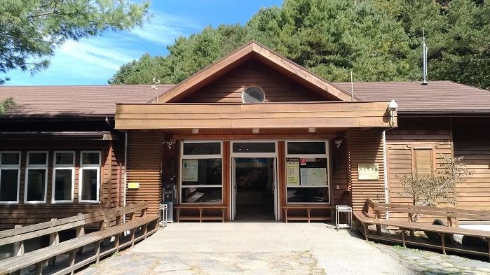 排雲登山服務中心(玉山國家公園管理處提供)