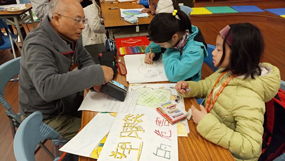 透過老師的說明瞭解故事圖畫的撰寫技巧