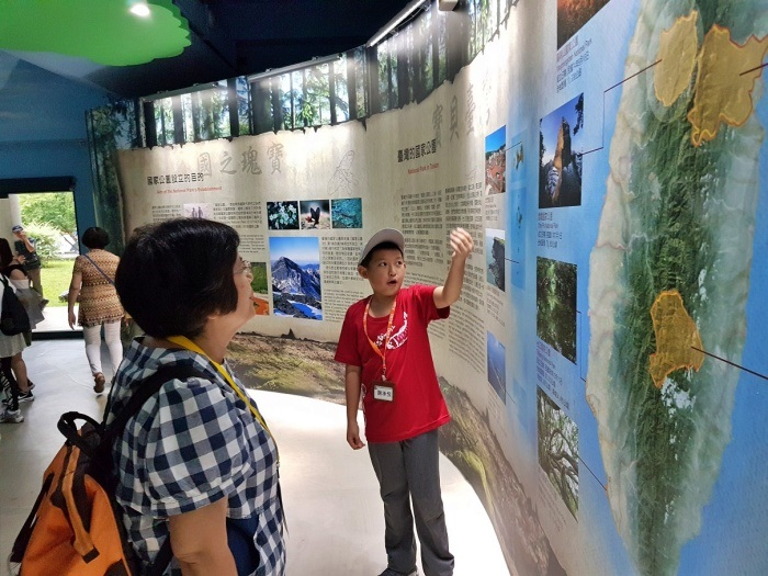 108年雪霸國家公園暑期小小解說員培訓營活動