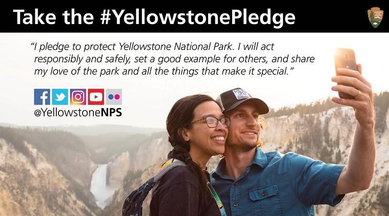 美國國家公園加強宣導安全自拍的觀念