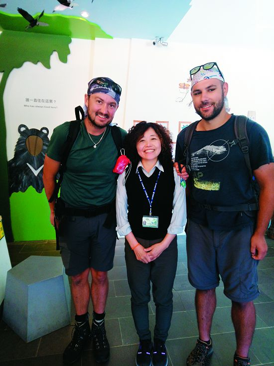 The service of a National Park guide is often borderless