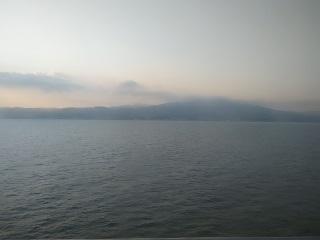 於九州往大阪渡輪眺望瀨戶內海國立公園
