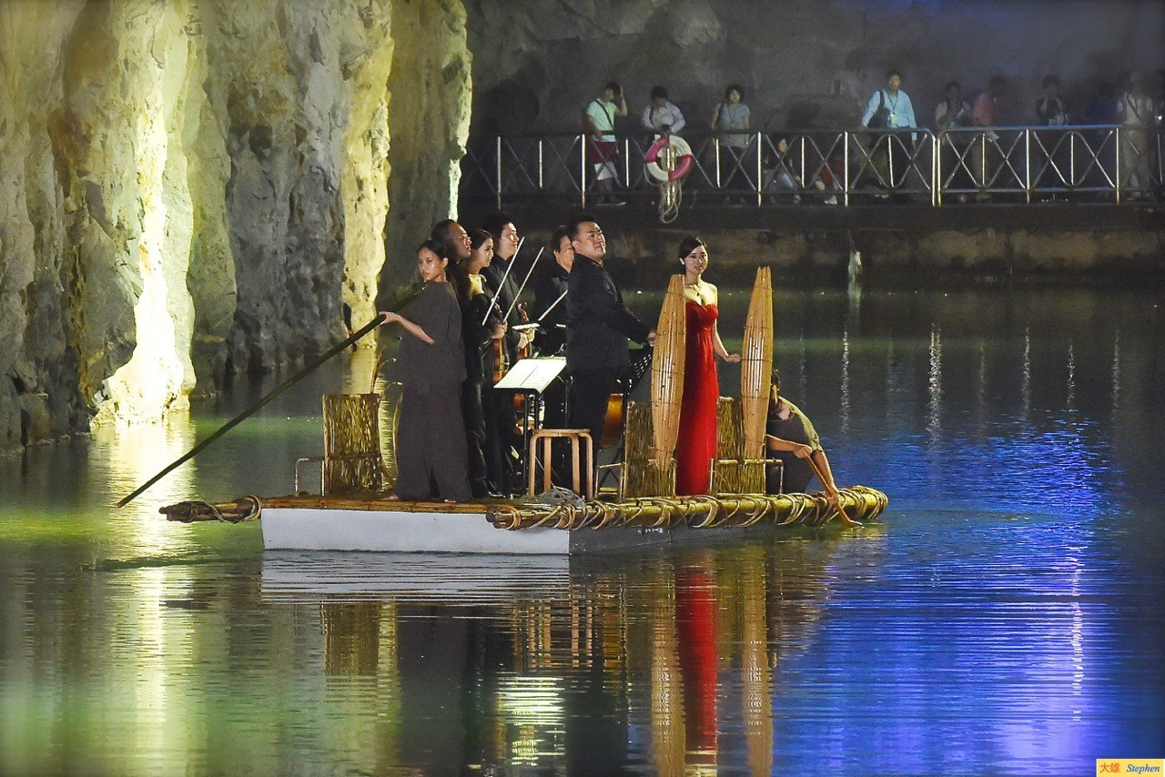 以歷史為舞台的音樂饗宴——2016金門坑道音樂節