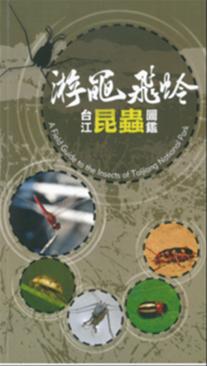 《遊黽飛蛉─台江昆蟲圖鑑》封面