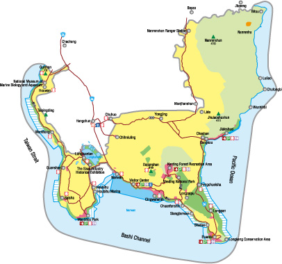 map of Kenting