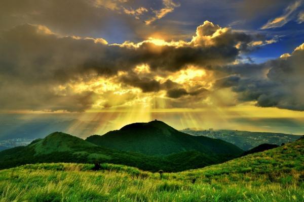 The Sunset of Datun Mountain