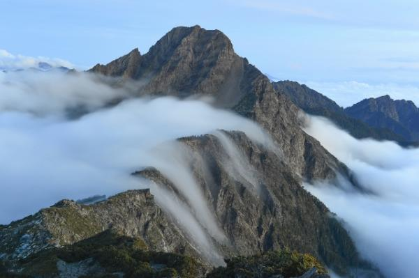 Floating Clouds in YuShan